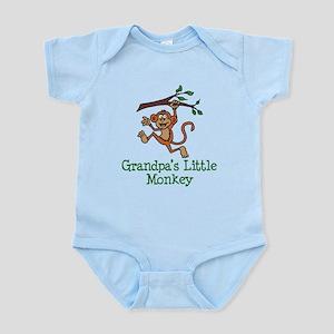 Grandpa's Little Monkey Body Suit
