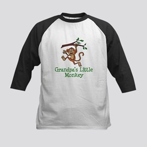 Grandpa's Little Monkey Baseball Jersey