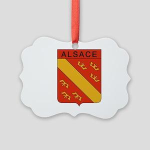 Groupe ALSACE Picture Ornament