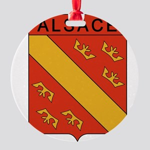 Groupe ALSACE Round Ornament