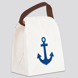 Boat Anchor Canvas Lunch Bag