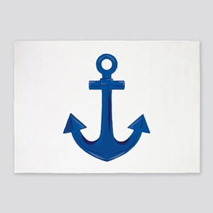 Boat Anchor 5'x7'Area Rug