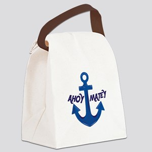 Ahoy Matey Canvas Lunch Bag