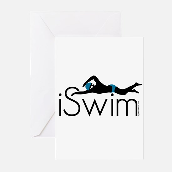 Cute Iswim Greeting Cards (Pk of 20)