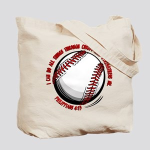 PHIL 4:13 (2-sided) Tote Bag