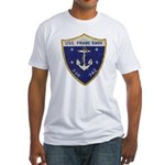 USS FRANK KNOX Fitted T-Shirt