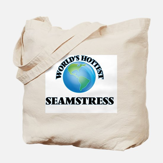 World's Hottest Seamstress Tote Bag