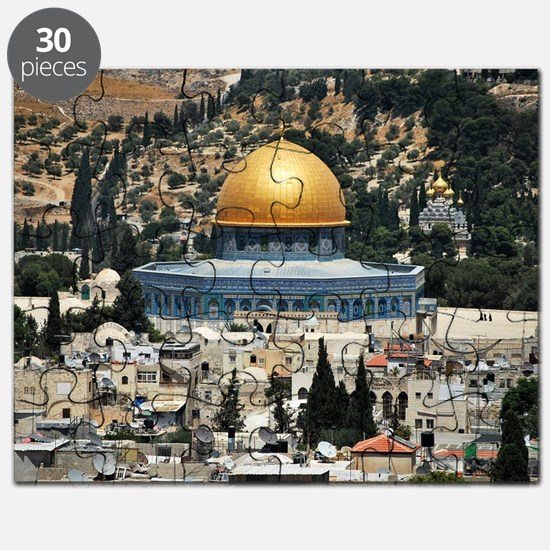 Dome of the Rock, Temple Mount, Jerusalem,  Puzzle