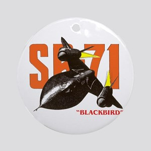 SR-71 BLACKBIRD Ornament (Round)