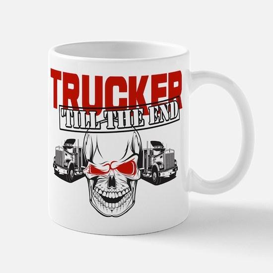 Trucker 'Till The End Mugs