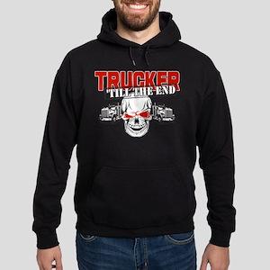 Trucker 'Till The End Hoodie