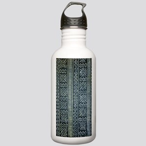 Mud Cloth Inspired  Stainless Water Bottle 1.0L