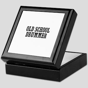 old school drummer Keepsake Box