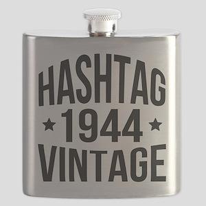 Hashtag 1944 Vintage Flask