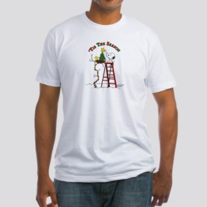 Peanuts Tis the Season Fitted T-Shirt