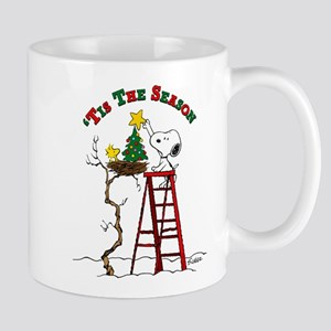 Peanuts Tis the Season 11 oz Ceramic Mug