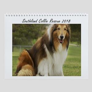 Southland Collie Rescue Wall Calendar