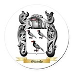 Gianolo Round Car Magnet