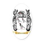 Giannucci Oval Car Magnet