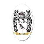Giannotti 20x12 Oval Wall Decal
