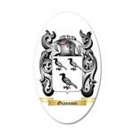 Giannoni 20x12 Oval Wall Decal