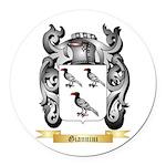 Giannini Round Car Magnet