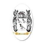 Giannini 35x21 Oval Wall Decal