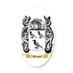 Gianni Oval Car Magnet