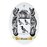 Gianni Ornament (Oval)