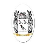 Gianneschi 20x12 Oval Wall Decal