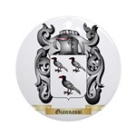 Giannassi Ornament (Round)