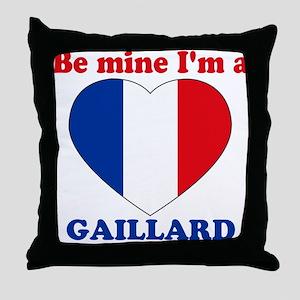 Gaillard, Valentine's Day Throw Pillow