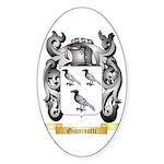 Gianinotti Sticker (Oval 10 pk)