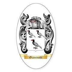 Gianinotti Sticker (Oval 50 pk)