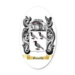Gianello Oval Car Magnet