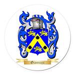 Giamuzzi Round Car Magnet