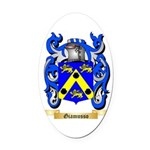 Giamusso Oval Car Magnet