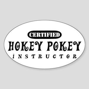 Certified Hokey Pokey Instructor Sticker