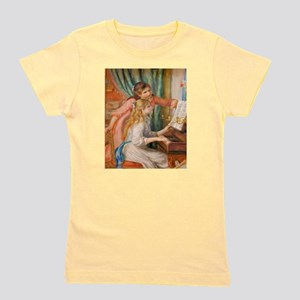 Renoir: Girls at a Piano Girl's Tee