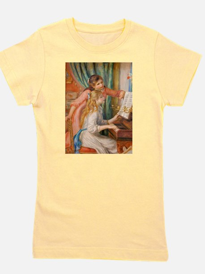 Renoir: Girls at a Piano Girl's Tee