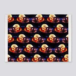 Gems pattern 5'x7'Area Rug