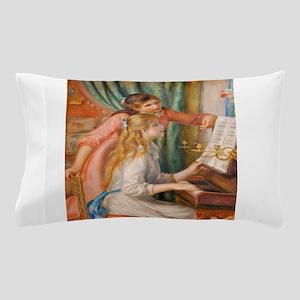 Renoir: Girls at a Piano Pillow Case