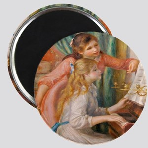 Renoir: Girls at a Piano Magnets