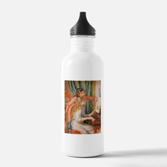 Renoir: Girls at a Piano Water Bottle