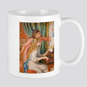 Renoir: Girls at a Piano Mugs
