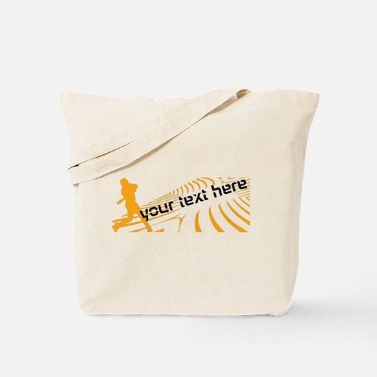 Cool Orange Baseball Tote Bag