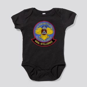 US NAVAL INTELLIGENCE Military Patch Baby Bodysuit