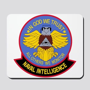 US NAVAL INTELLIGENCE Military Patch IN Mousepad