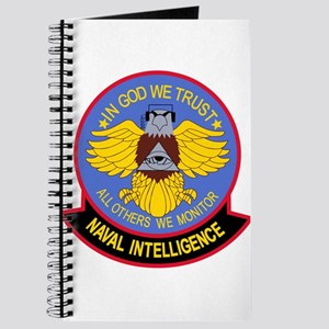 US NAVAL INTELLIGENCE Military Patch IN CO Journal