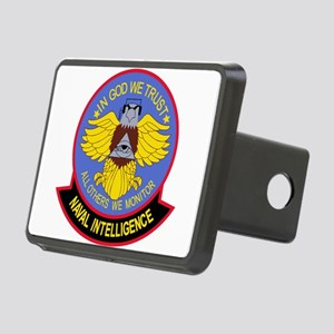 US NAVAL INTELLIGENCE Mili Rectangular Hitch Cover